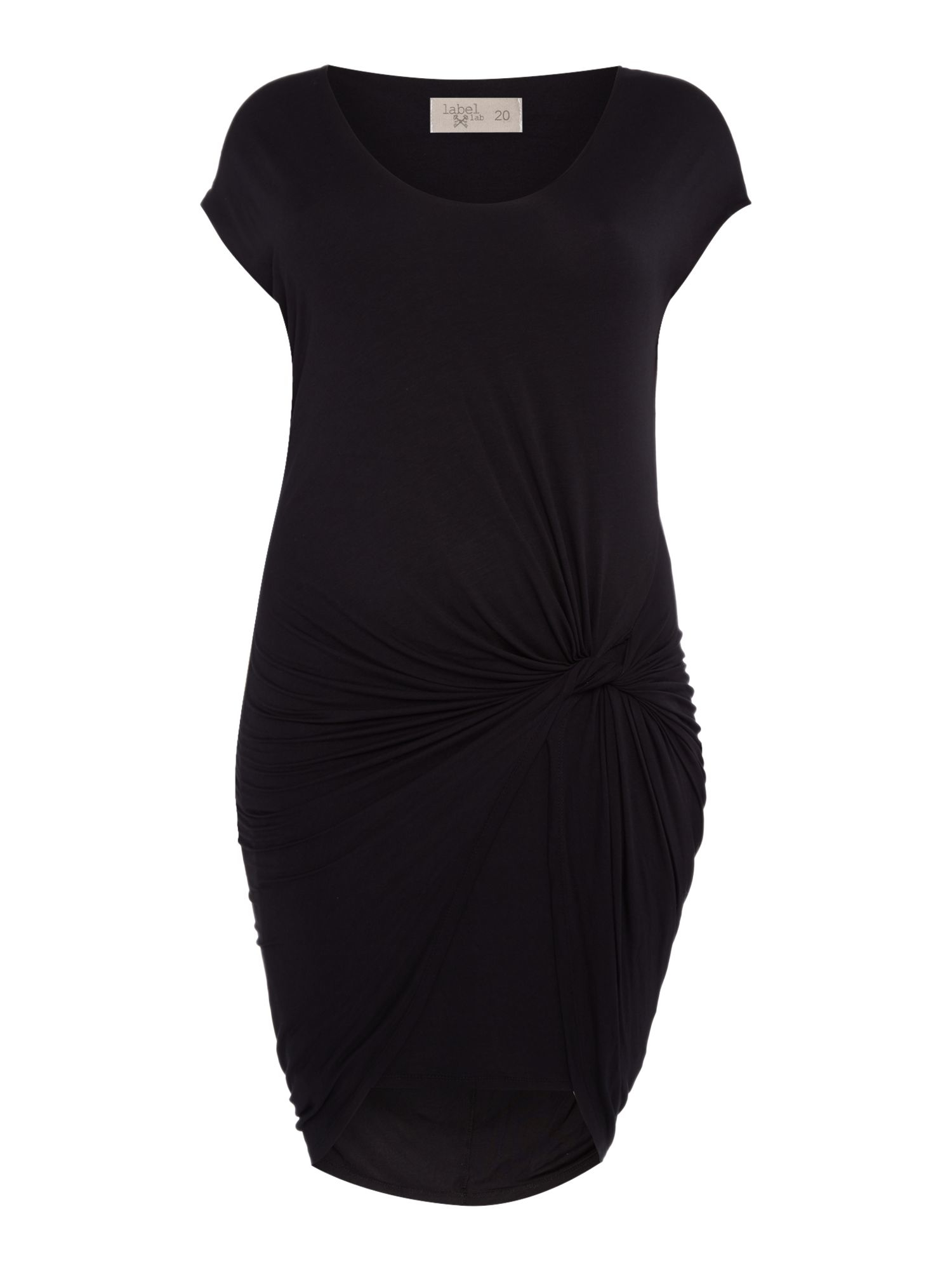 Black dress size 0 labs