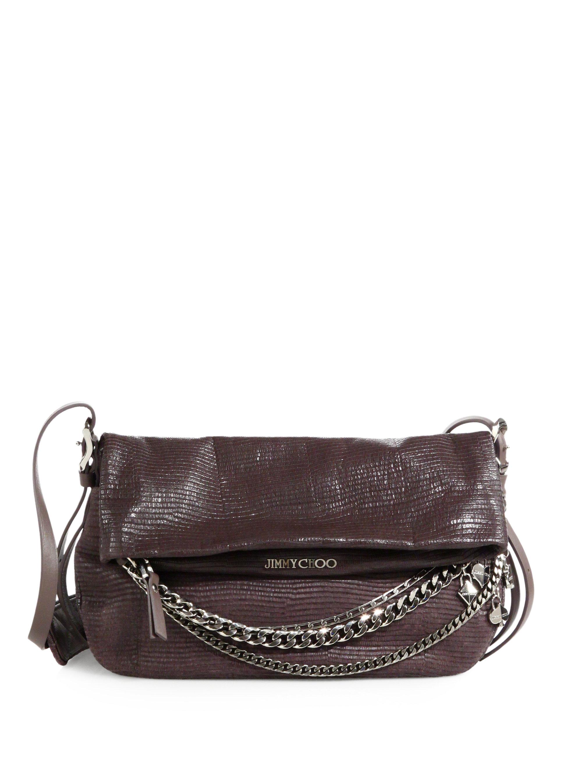 Jimmy Choo Patent Leather Shoulder Bag 11