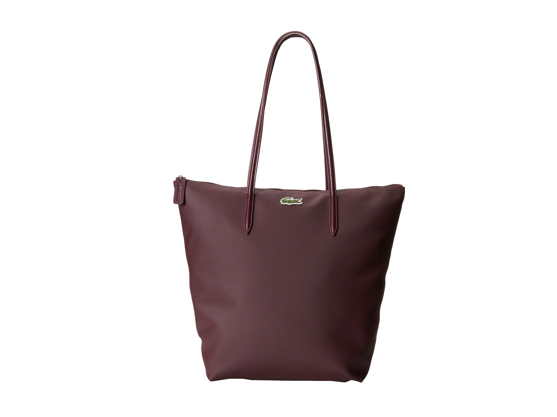 Lacoste L1212 Concept M1 Vertical Tote Bag In Brown