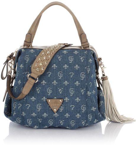 Guess Denim Handbag Guess Women S Brightside Shoulder