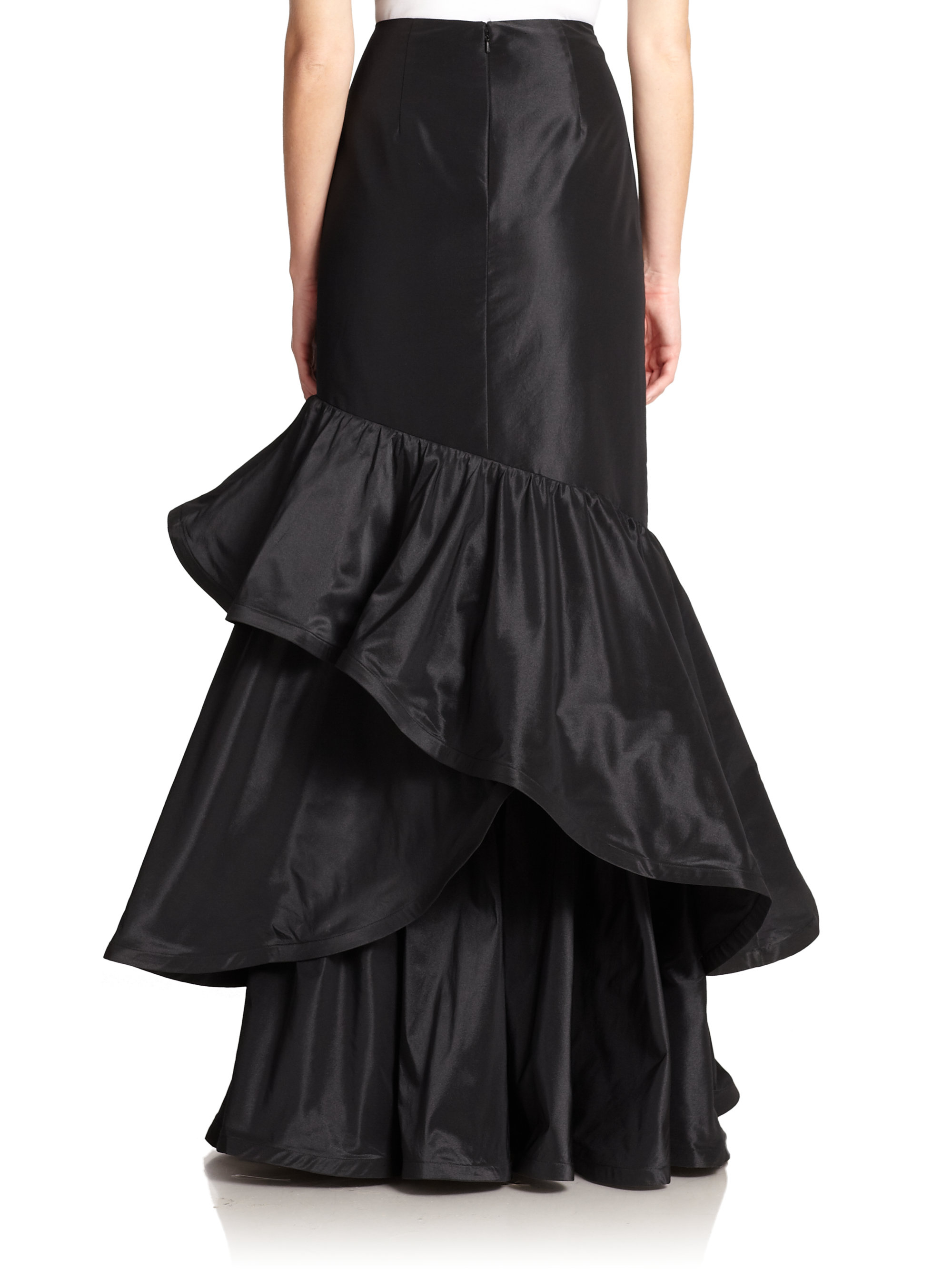 Find long ruffle skirt at ShopStyle. Shop the latest collection of long ruffle skirt from the most popular stores - all in one place.