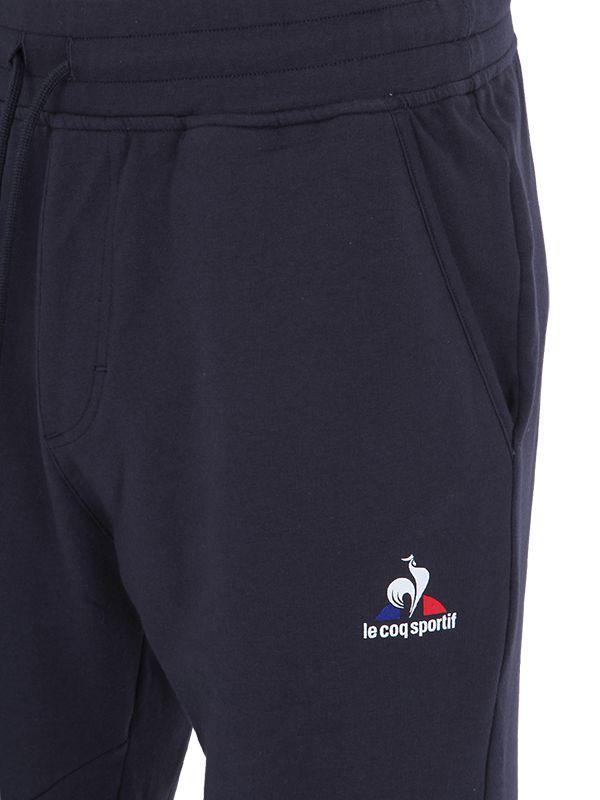 lyst le coq sportif training light cotton jogging pants in blue for men. Black Bedroom Furniture Sets. Home Design Ideas