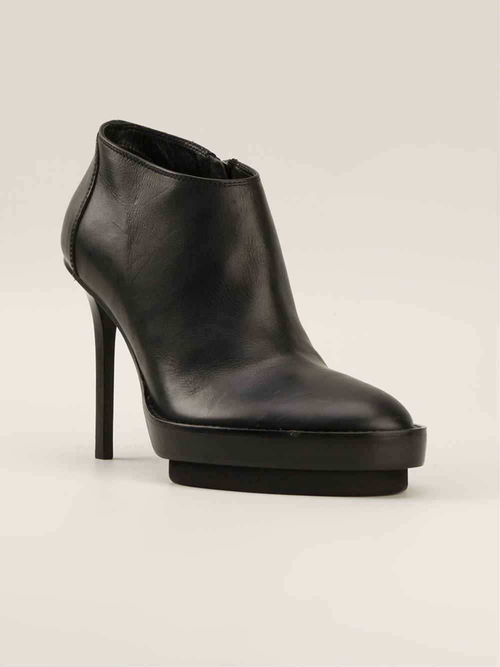 ANN DEMEULEMEESTER Platform Ankle Boots Best Price Sale New Arrival Discount Shopping Online Cheap Sale Sast Really 3WMLCnI