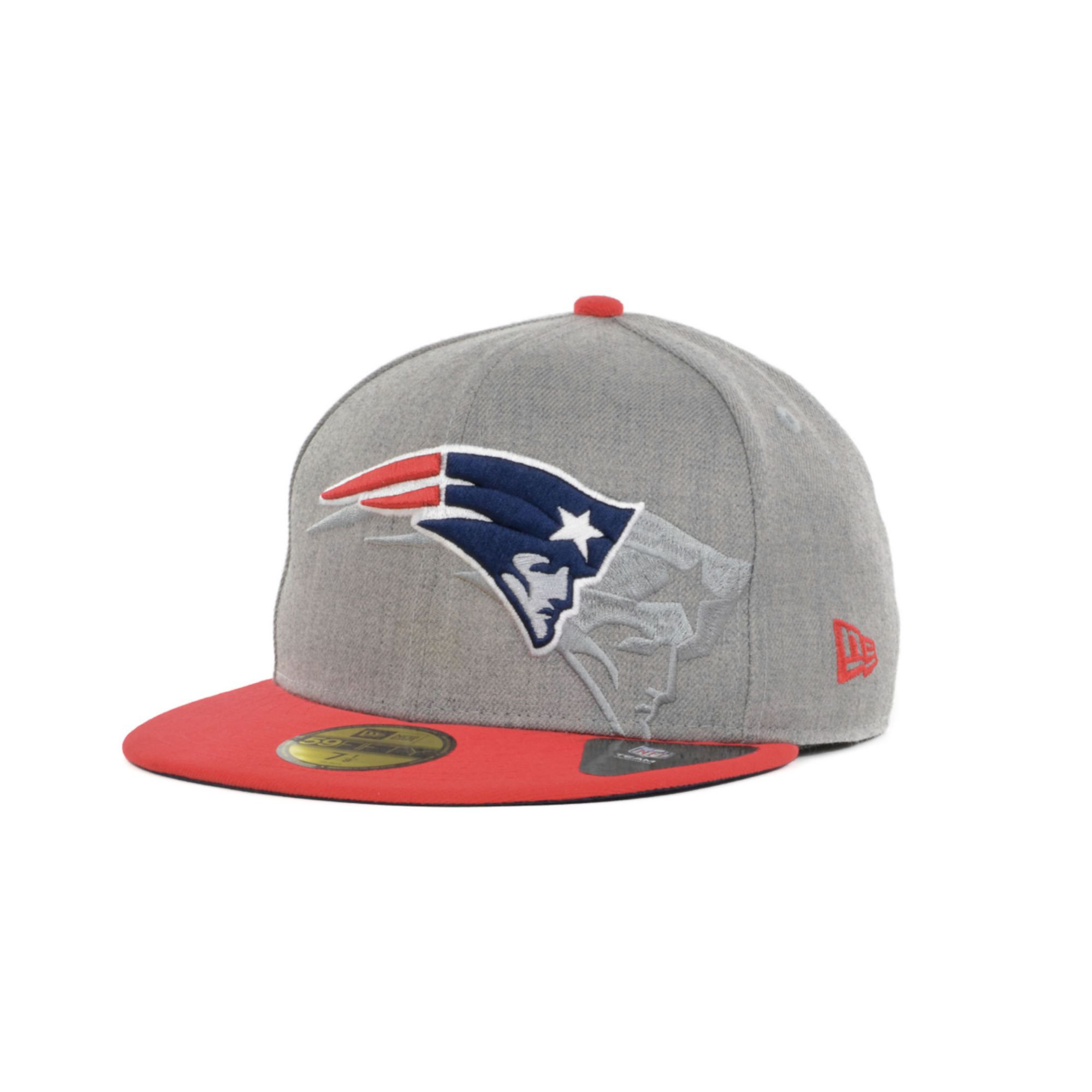 ... nfl new era ireland lyst ktz new england patriots team screening  59fifty cap in gray 436c2 3f90a ... cf2517bf7