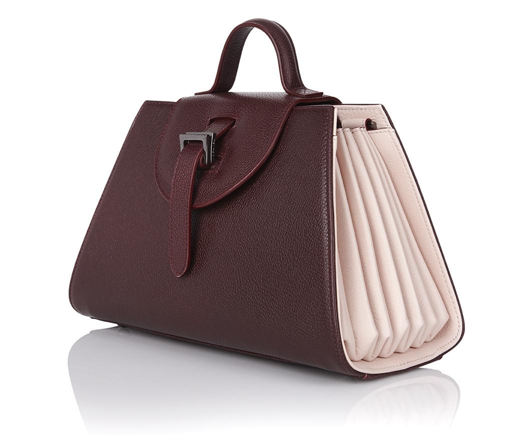 lyst meli melo allegra mini burgundy pastel pink in brown. Black Bedroom Furniture Sets. Home Design Ideas