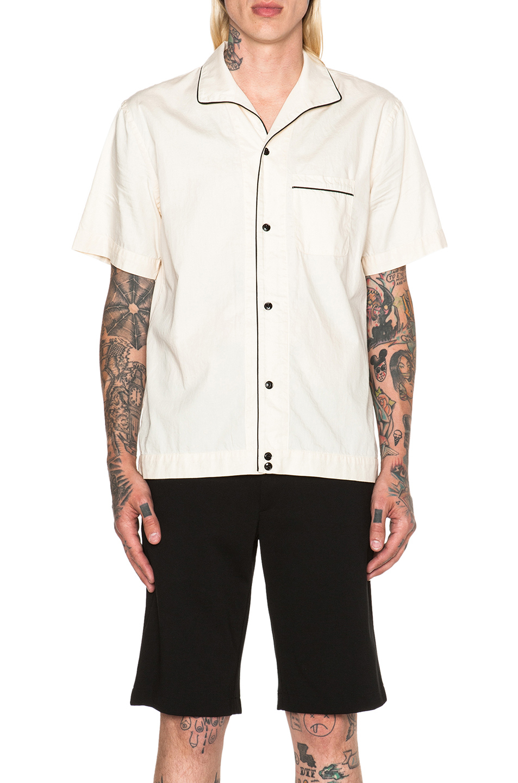 Rag Bone Men 39 S Greenleaf Shirt In Natural Lyst