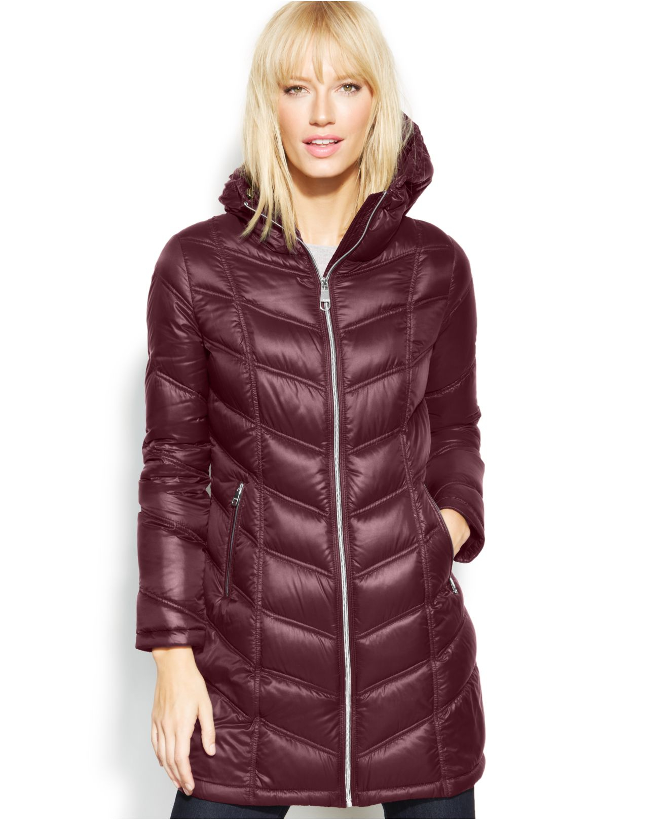 Lyst Calvin Klein Quilted Down Packable Puffer Coat In