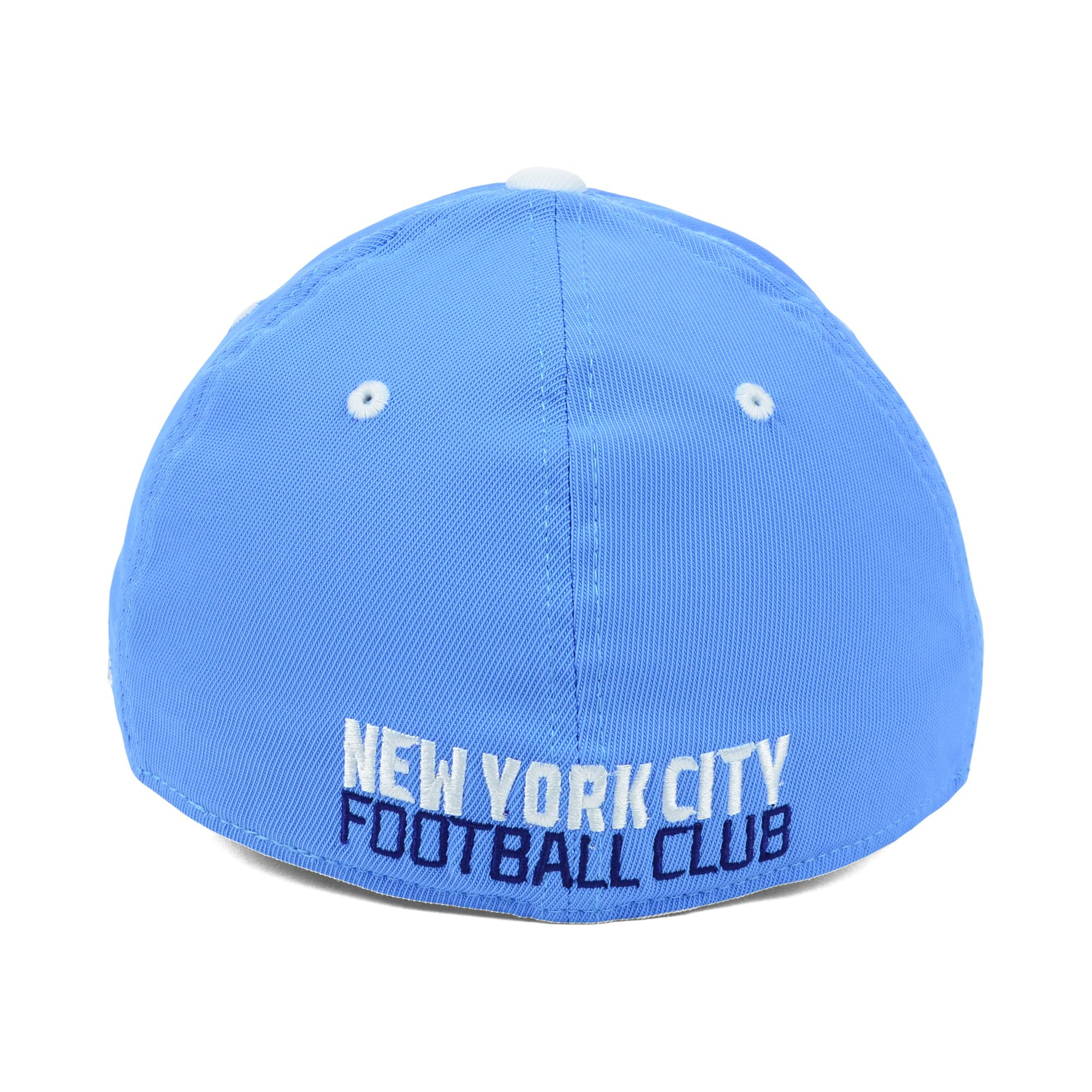 quality design debd6 fbdef where to buy lyst adidas new york city fc mls mid fielder cap in blue for