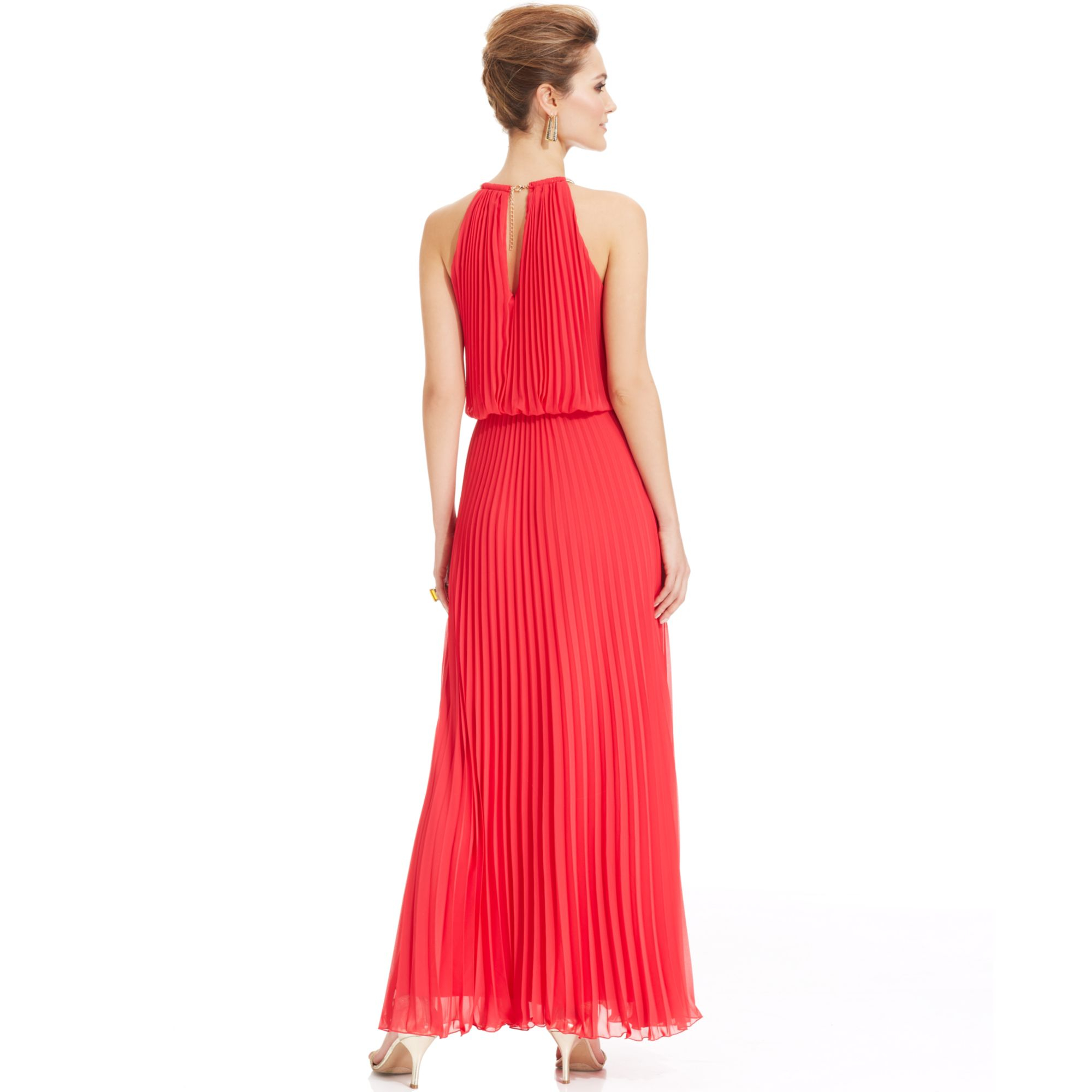xscape-orange-pleated-halter-blouson-gown-product-1-17741838-1 ...