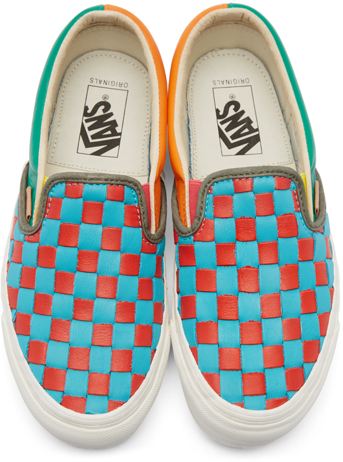 98cef28c25d6ae Lyst - Vans Multicolor 50th Og Classic Slip-on Lx Sneakers for Men