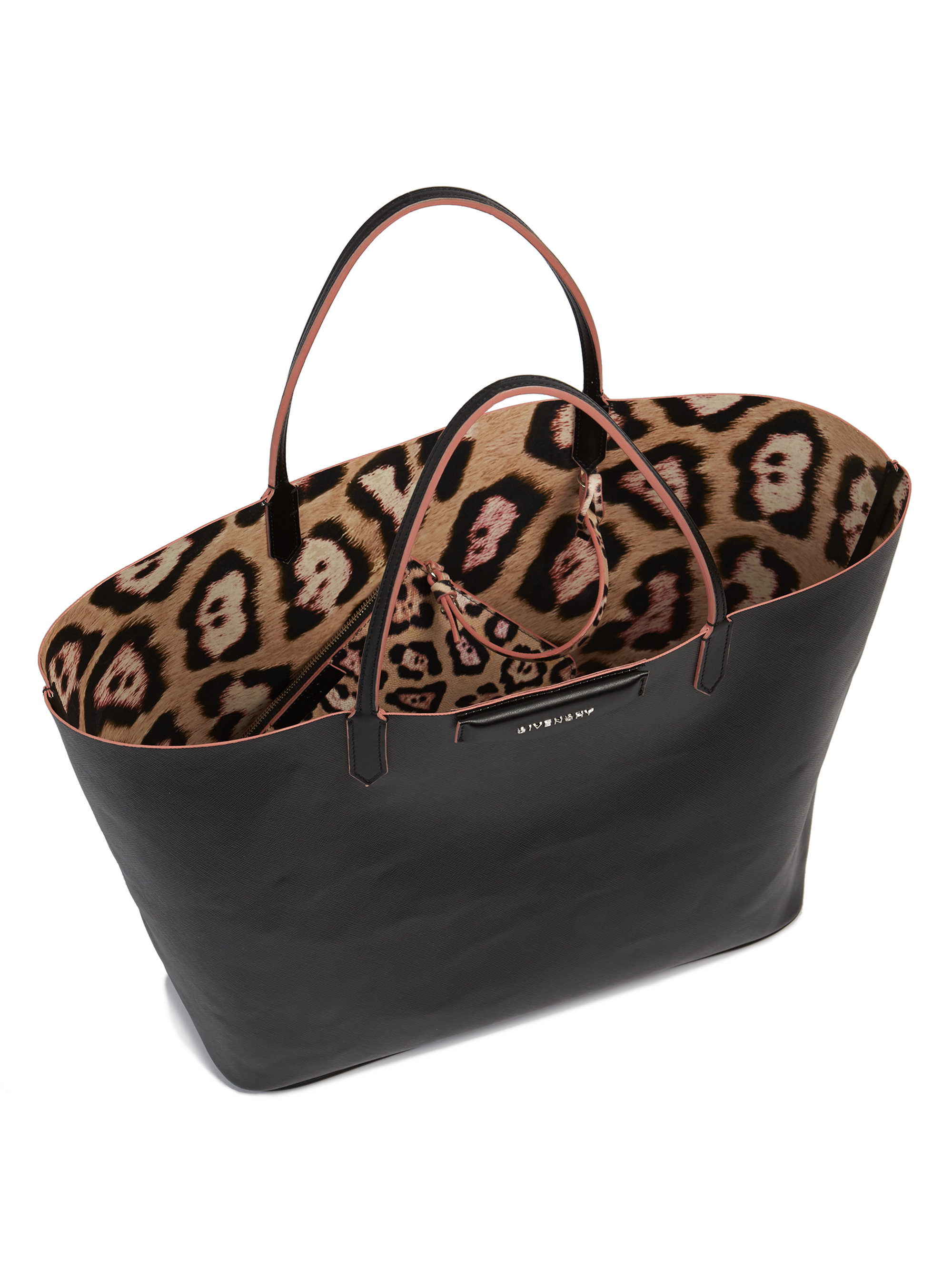 1aaf4095c067 Lyst - Givenchy Antigona Large Coated Canvas Tote in Black