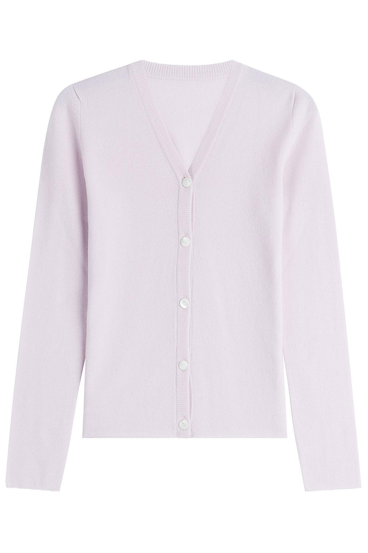 Lucien pellat finet Cashmere Cardigan - Rose in Pink | Lyst