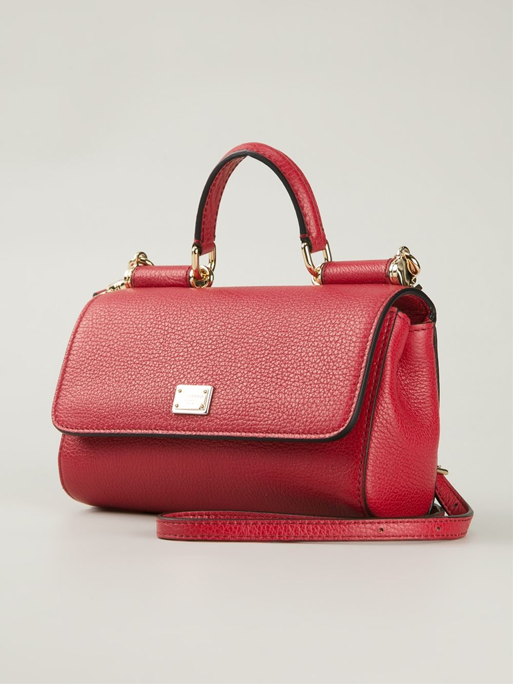 Sicily shoulder bag - Red Dolce & Gabbana gLz7a