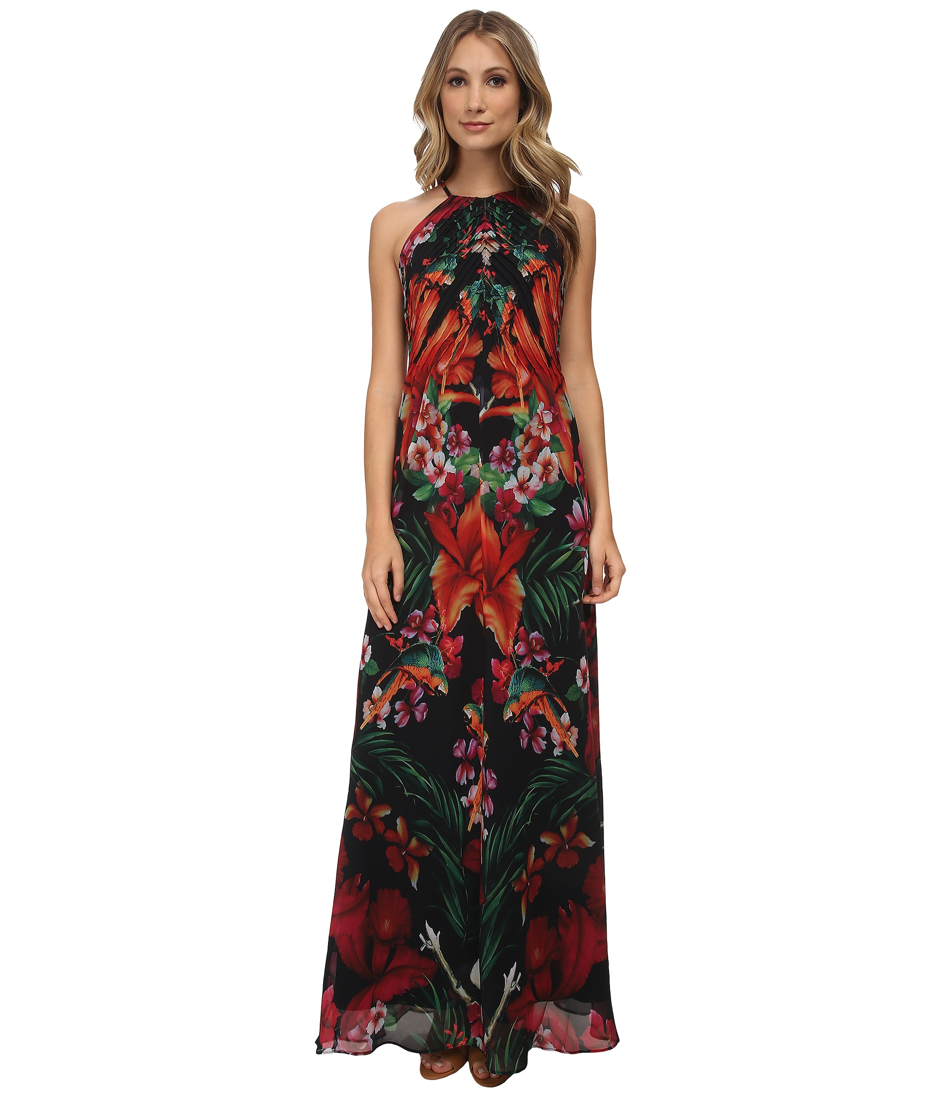 Ted baker sale maxi dress