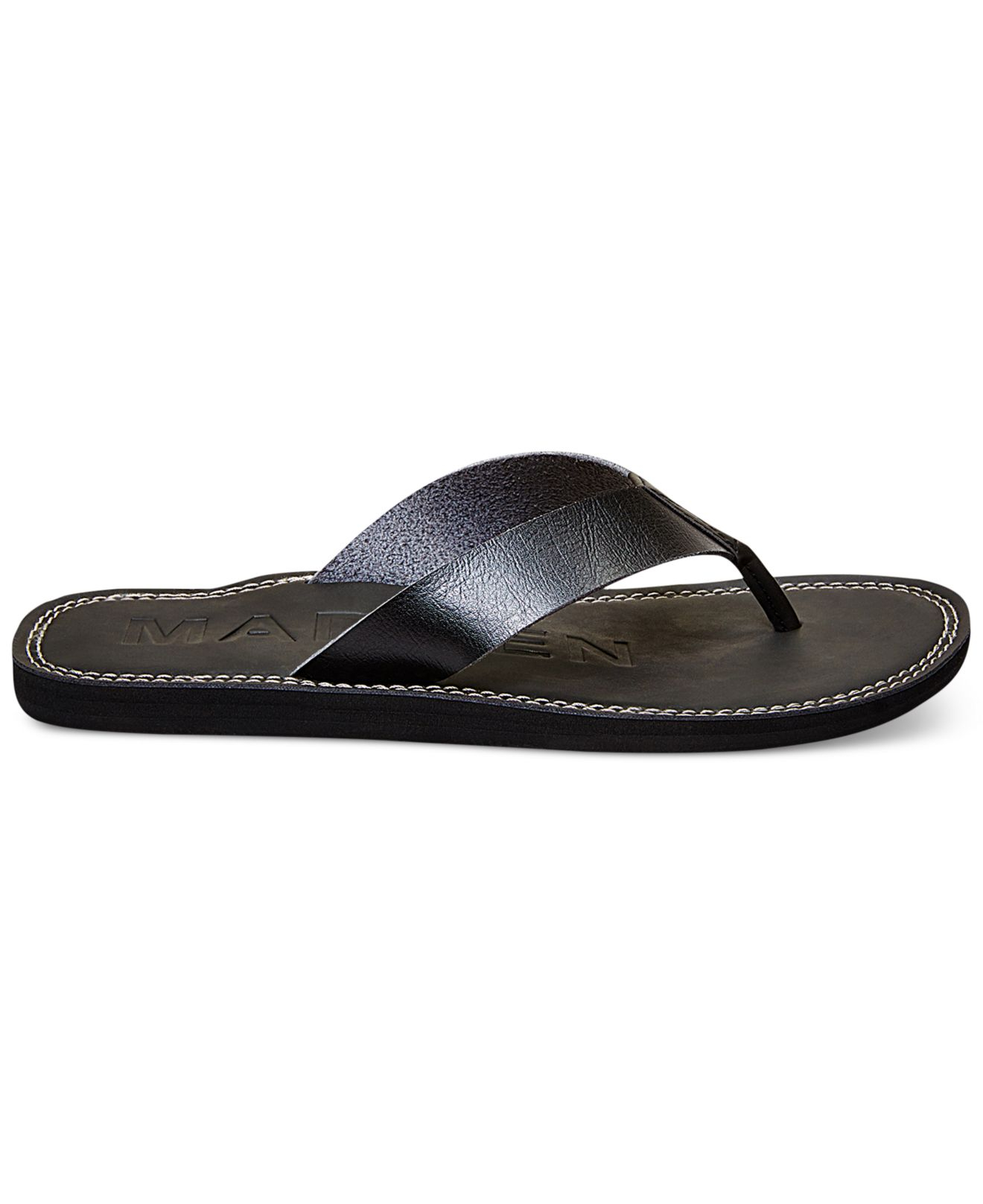 Rachel Shoes Oakley Black Flip Flops Sandals