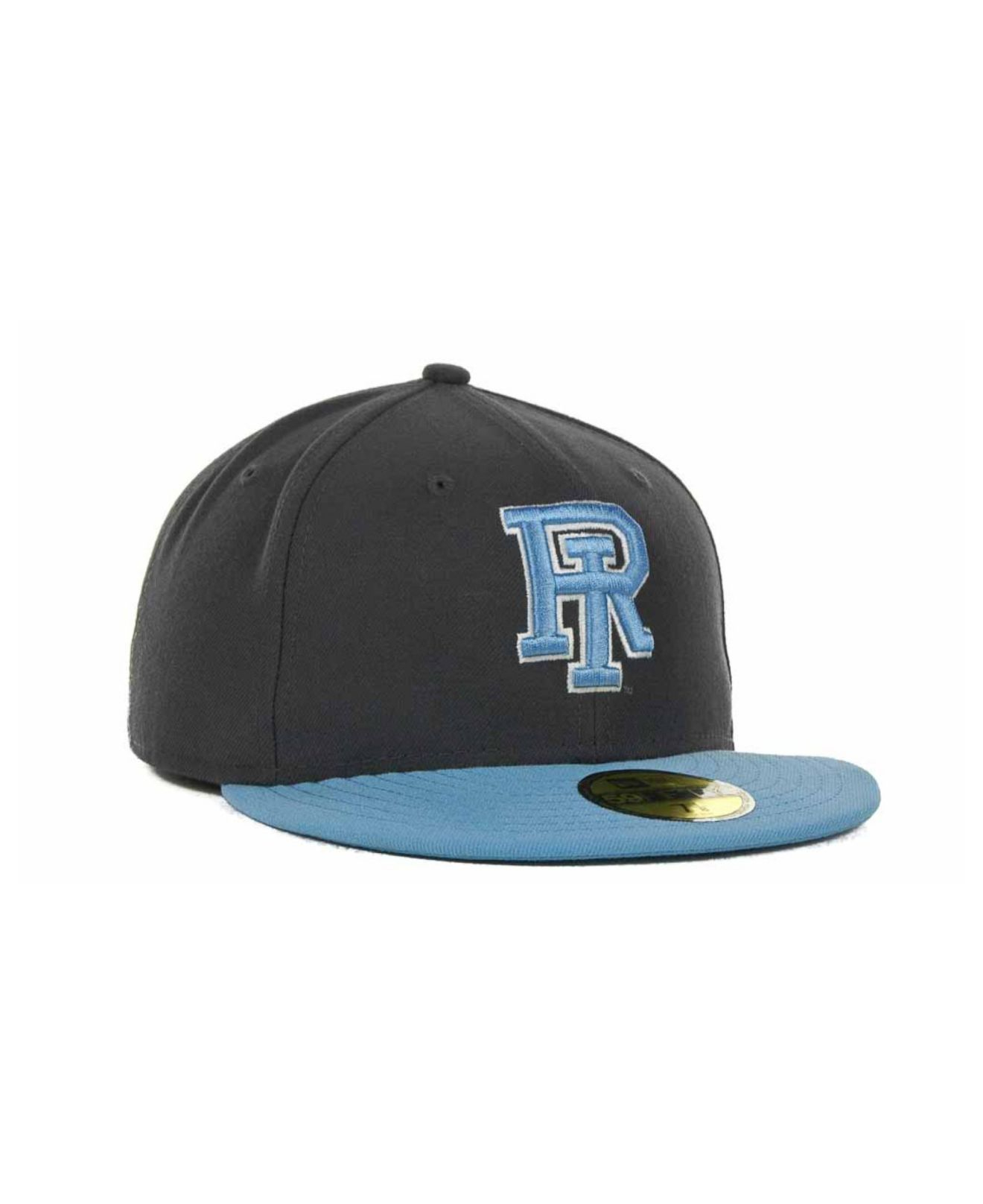 new concept 12396 c2b7a Lyst - KTZ Rhode Island Rams 2 Tone Graphite And Team Color 59fifty ...