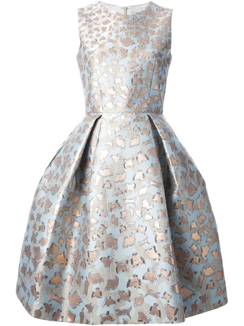 b6e60de2720 Mary Katrantzou  Jq Astere  Cookie Jacquard Dress in Blue - Lyst