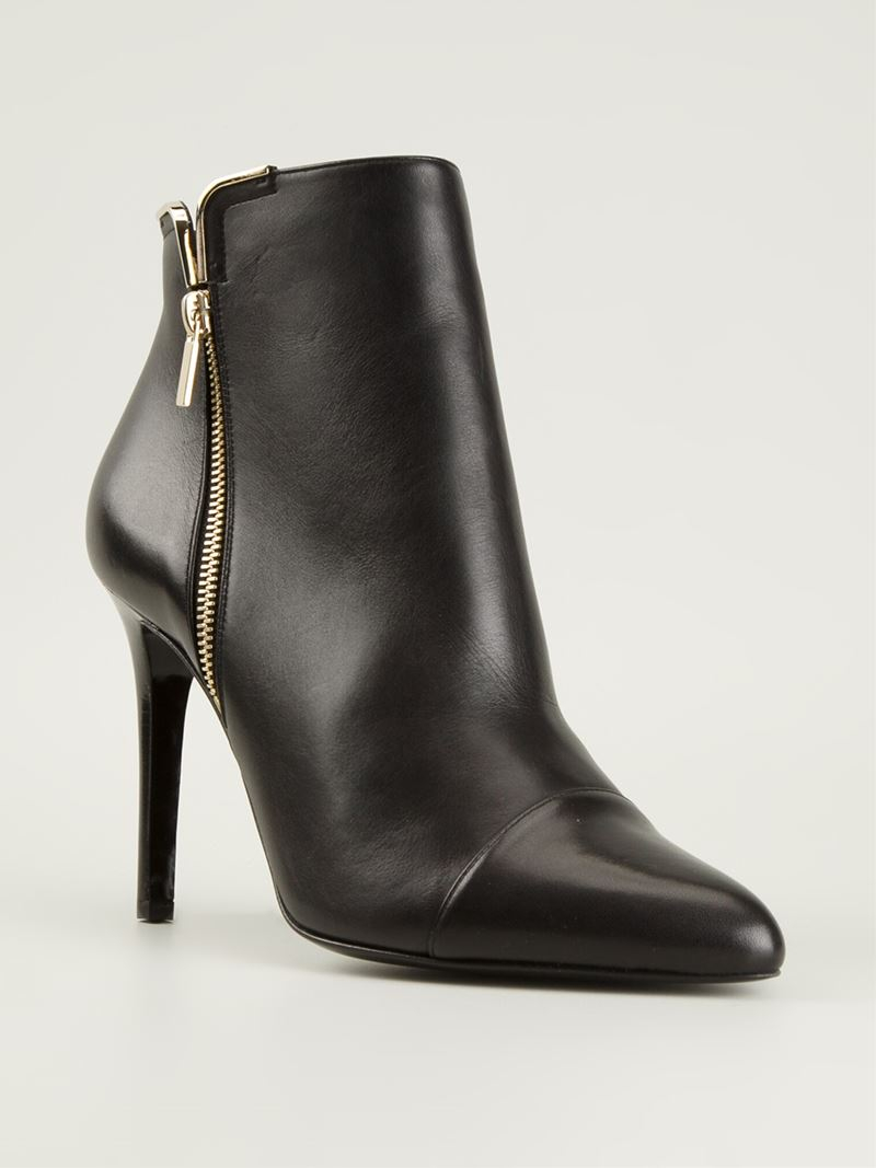 lanvin ankle boots in black lyst