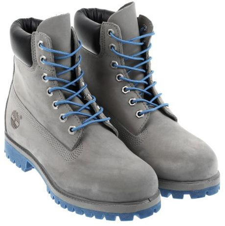 timberland boots in gray for men lyst. Black Bedroom Furniture Sets. Home Design Ideas