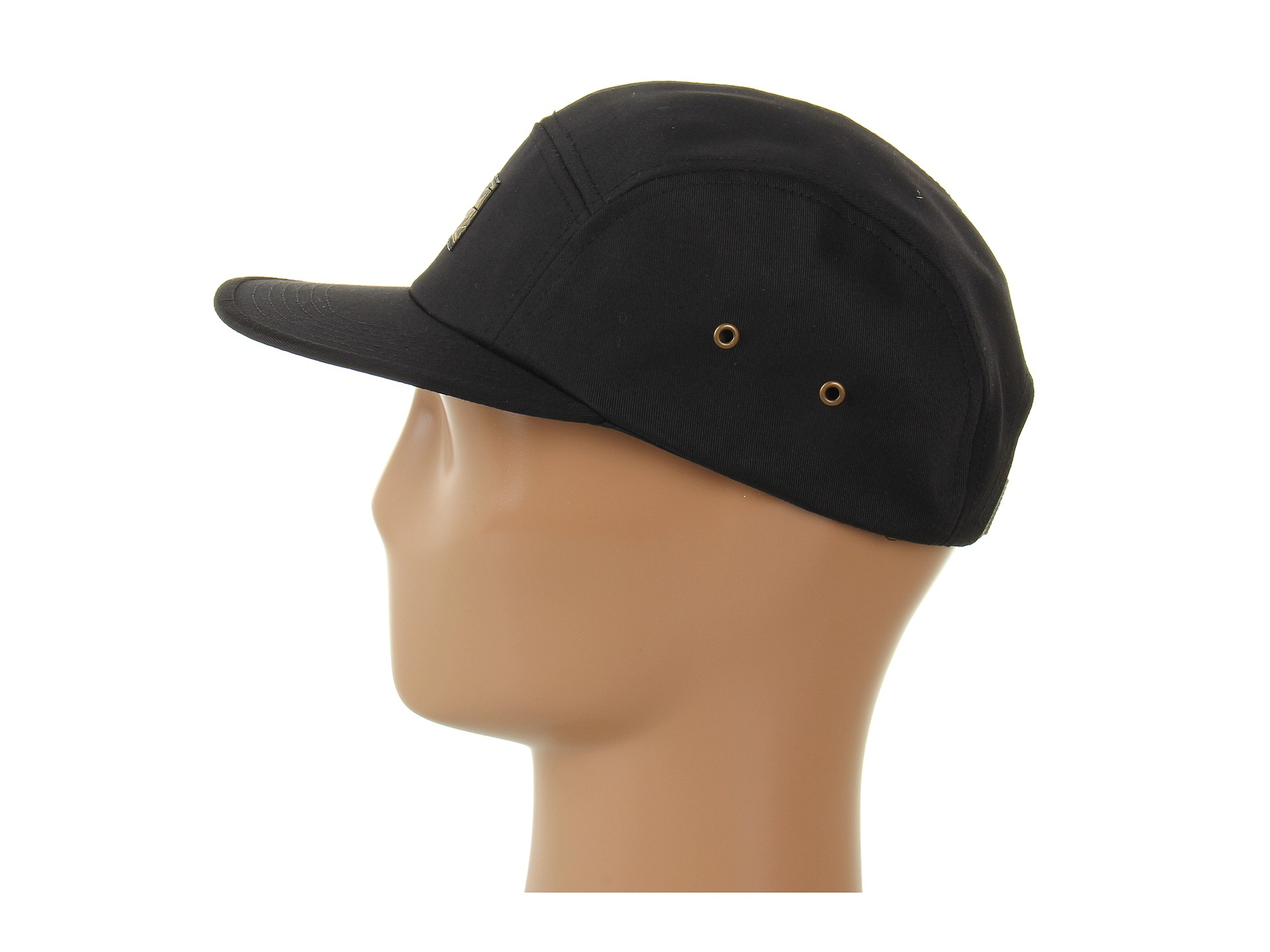 50a0964031c0c Obey Expedition 5 Panel Hat in Black for Men - Lyst