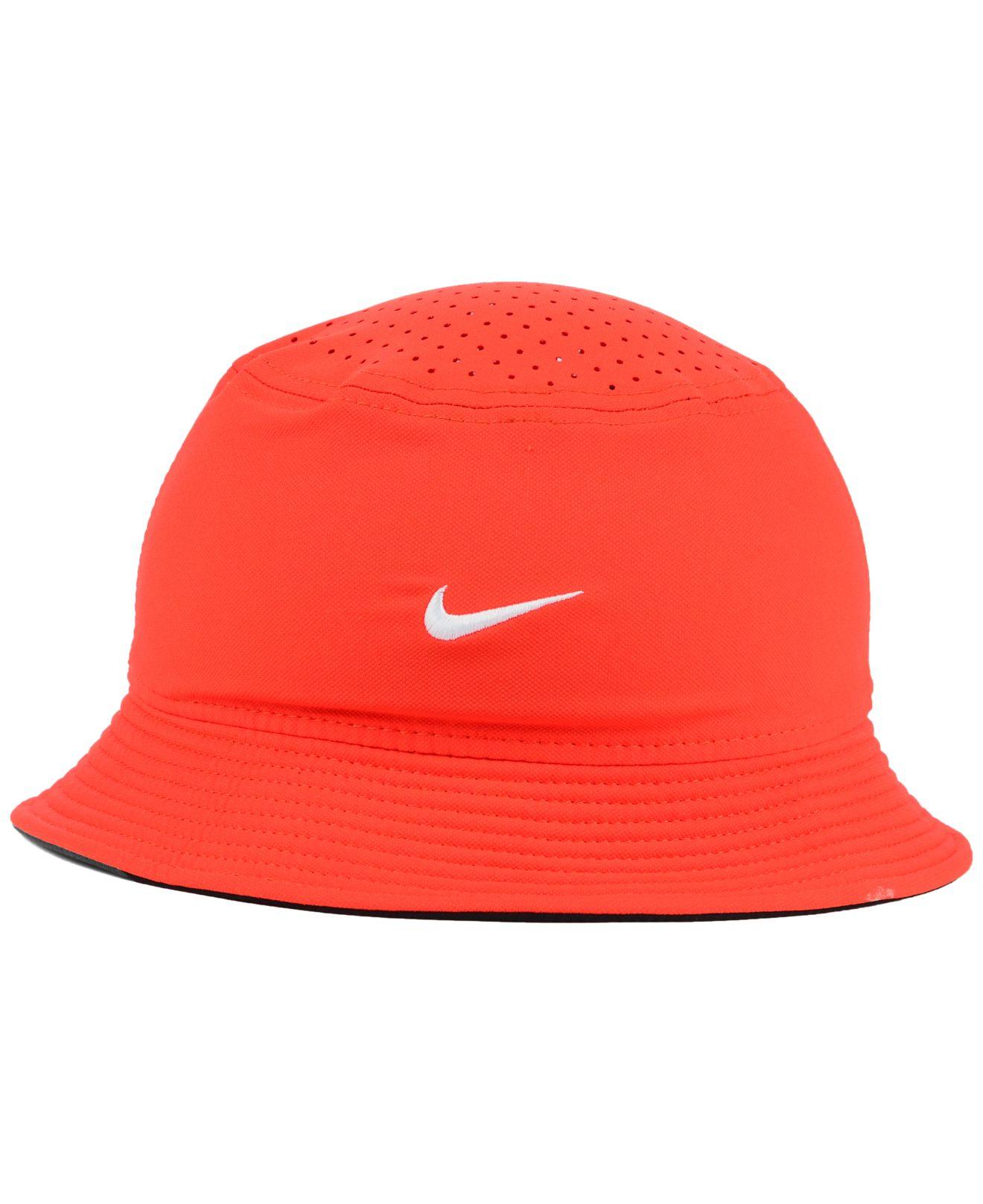 c78486c2d4f ... hot lyst nike clemson tigers vapor bucket hat in orange for men 79f98  9786a