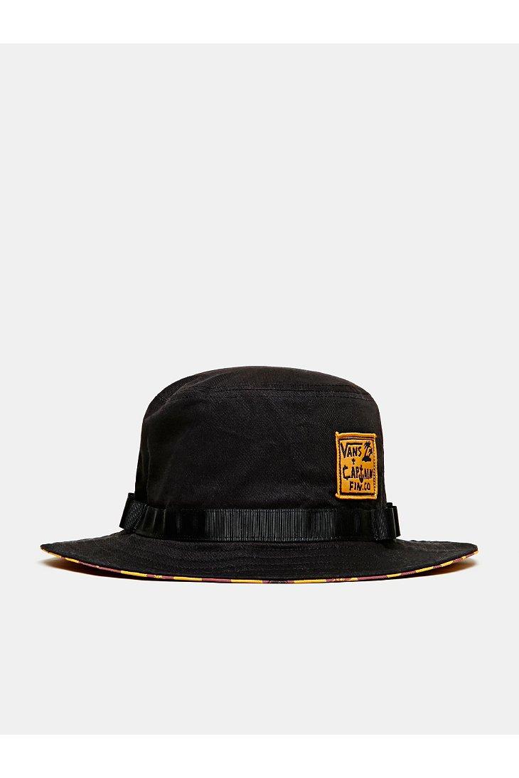 0766aaa878481 Vans Captain Fin X Bucket Hat in Black for Men - Lyst