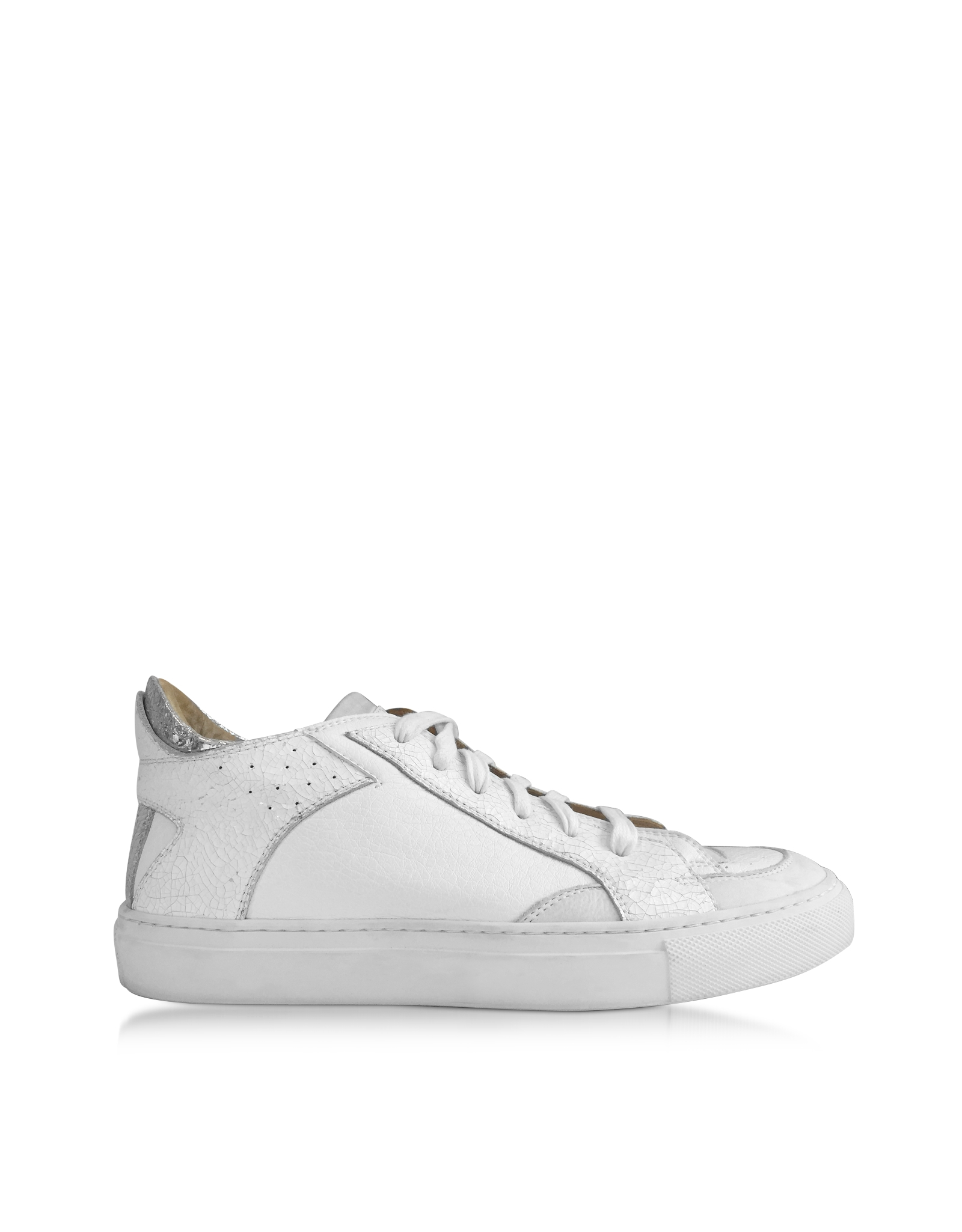 Lyst mm6 by maison martin margiela white and silver for Mm6 maison margiela