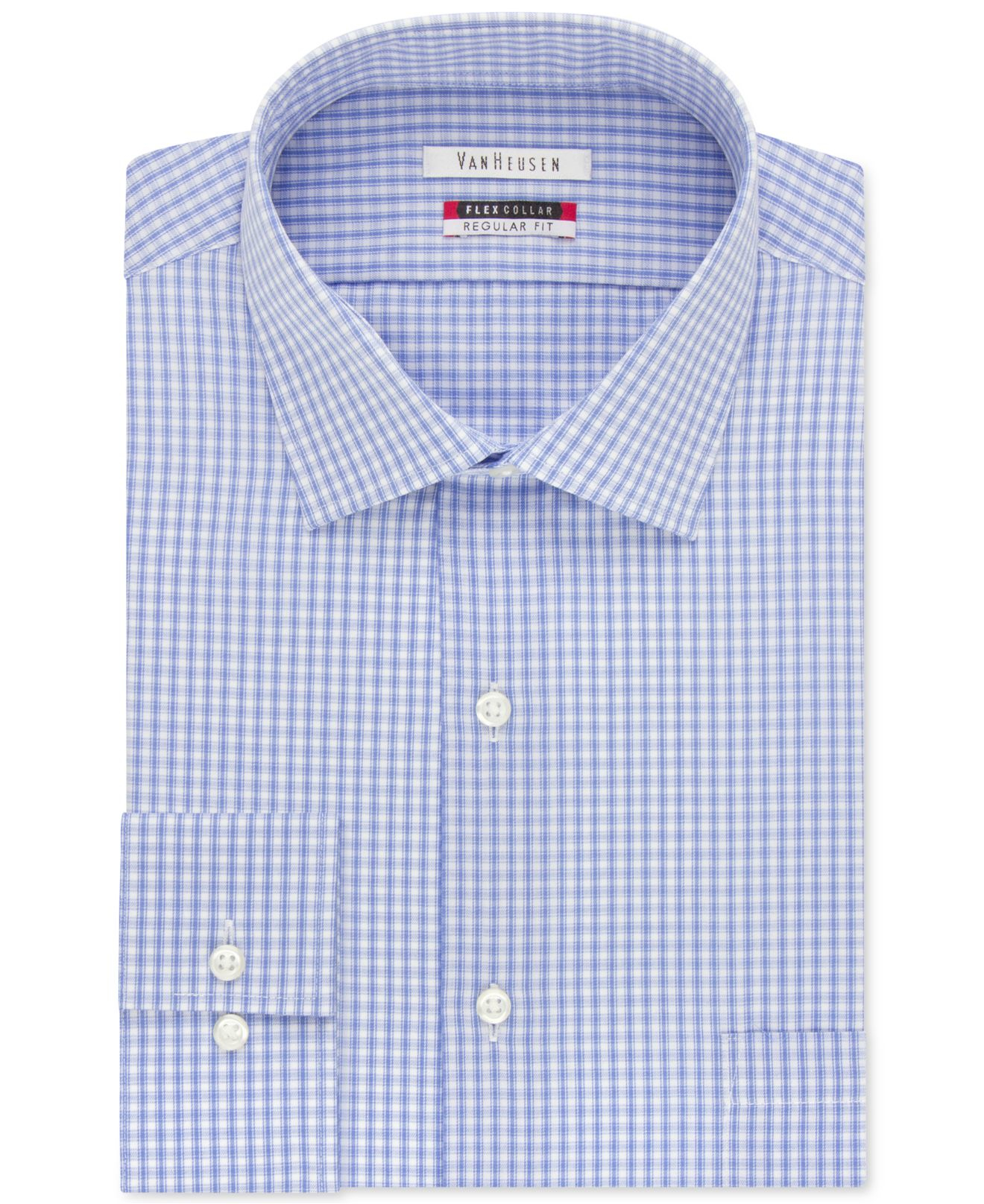 27ad248c543 Lyst - Van Heusen Big And Tall Tek Fit Collar Check Dress Shirt in ...