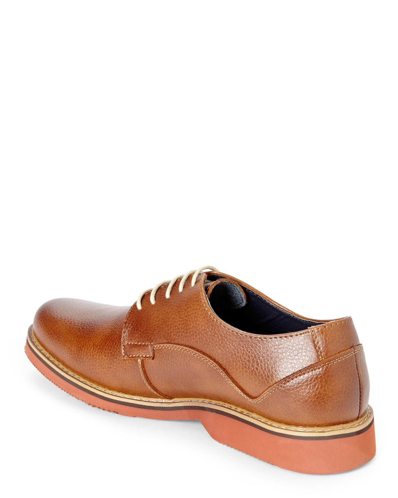 Lyst Joseph Abboud Cognac Joshua Oxfords In Brown For Men