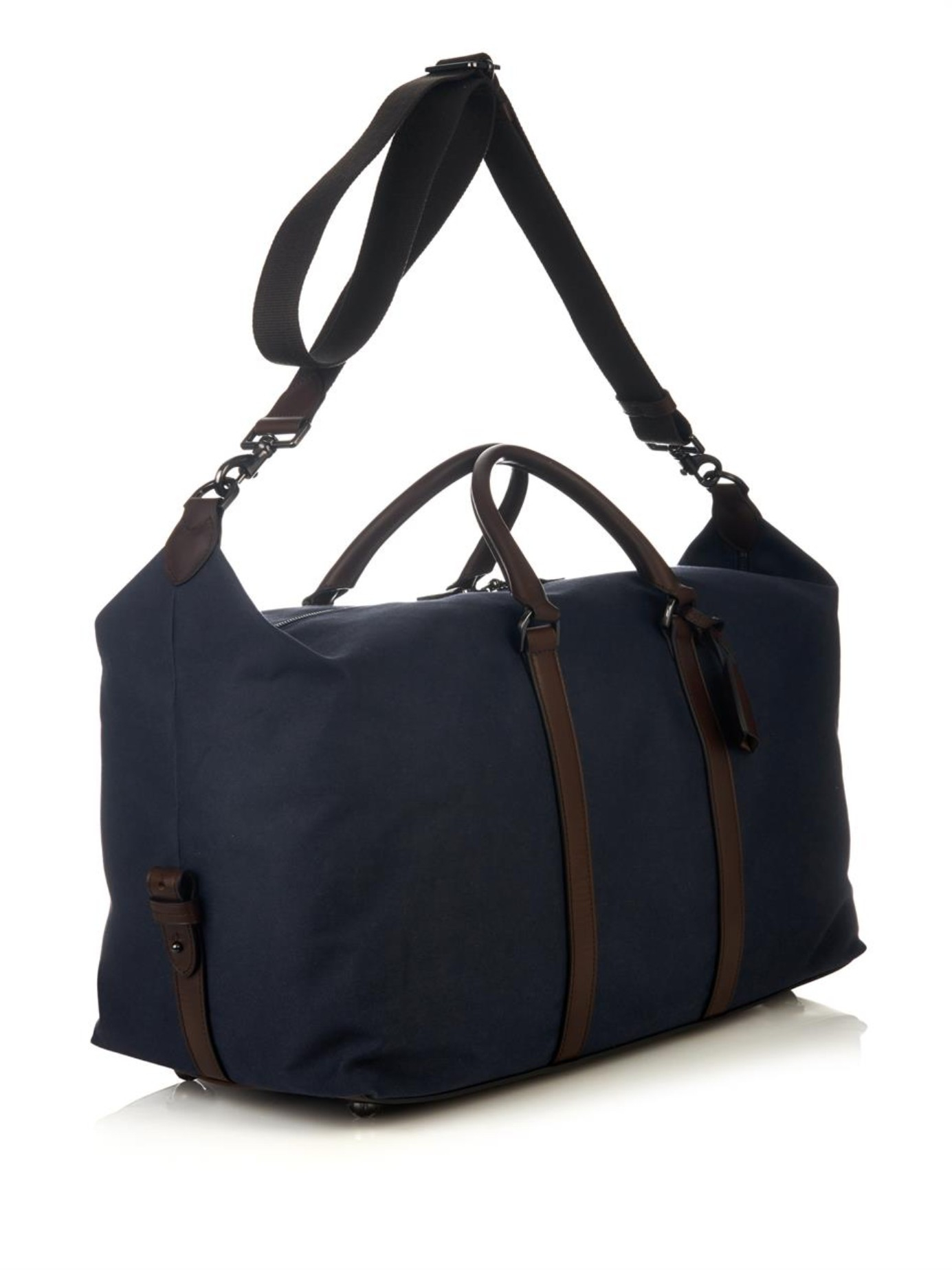2545f060133 australia Äkta mulberry clipper weekend bag st m. stockholm 9f8a1 bf9df   amazon lyst mulberry clipper refined canvas weekend bag in blue for men  c56b2 62561