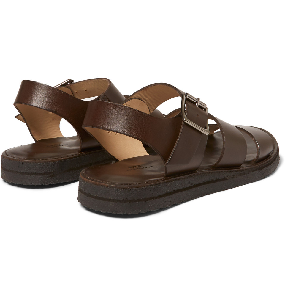 A.P.C Leather Sandals
