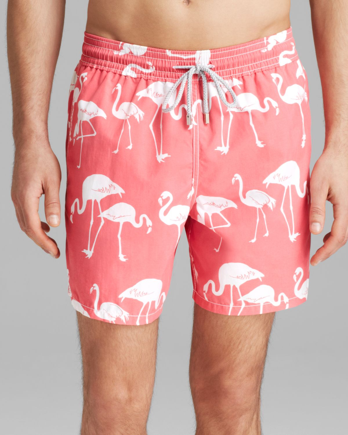 c6ba22b647 Vilebrequin Moorea Flamingo Swim Trunks in Pink for Men - Lyst