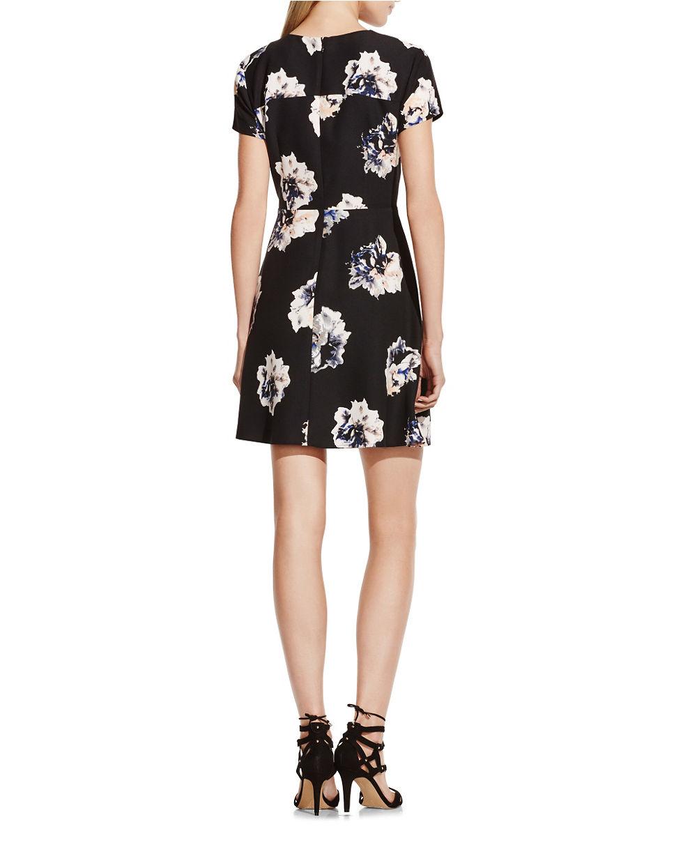 Lyst Vince Camuto Duet Floral A Line Floral Dress