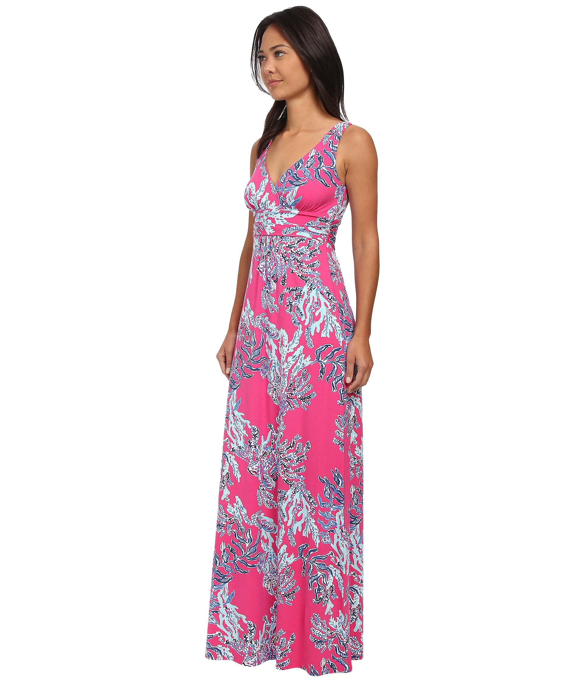 Lyst Lilly Pulitzer Sloane Maxi Dress In Pink