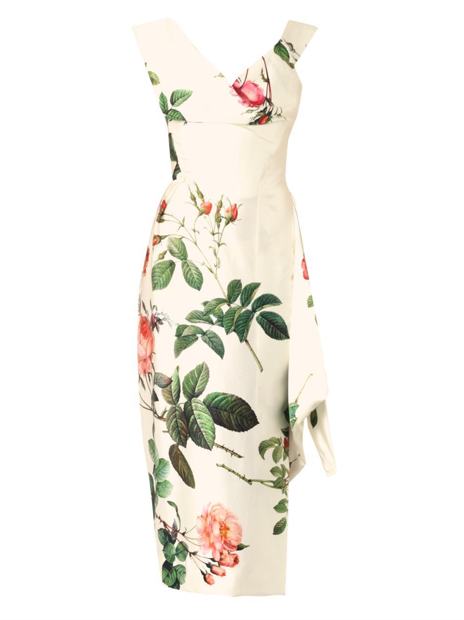 Lyst Vivienne Westwood Gold Label Prestige Floral Print