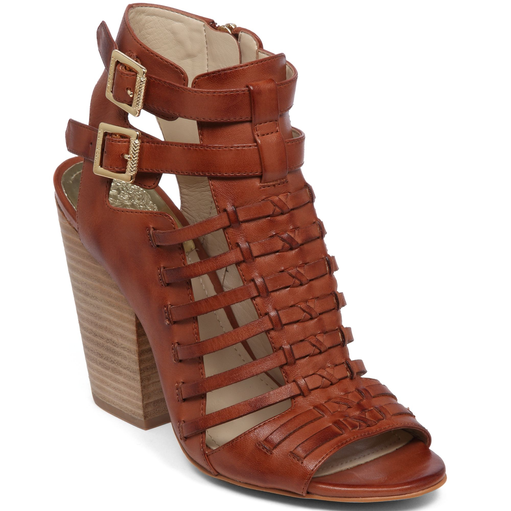 Vince Camuto Medow Gladiator Sandals In Brown Brick Lyst