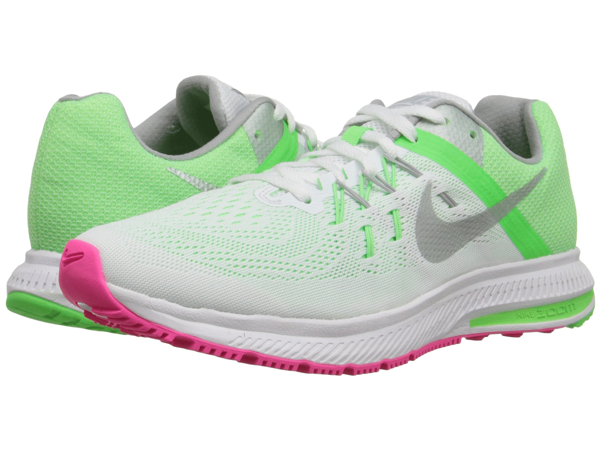 cheap for discount 3284f a588b ... coupon for lyst nike zoom winflo 2 in green 51cd9 cec16