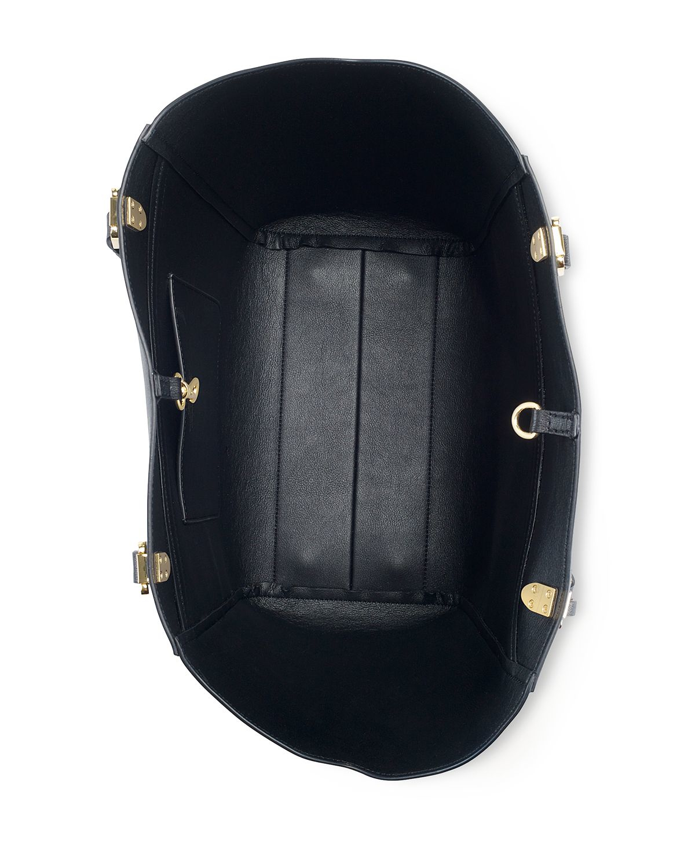 cf9d5a7f79 Lyst - Lauren by Ralph Lauren Lexington Tote in Black