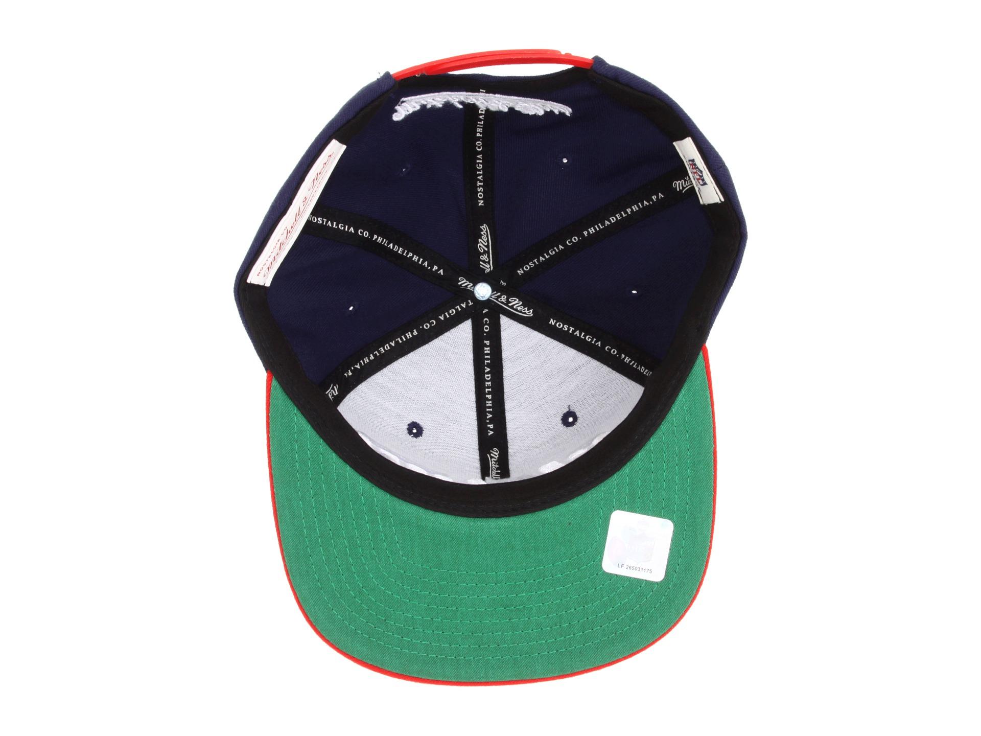 3f6f80f7c Lyst - Mitchell   Ness Nfl Throwbacks Xl Logo 2tone Snapback New ...