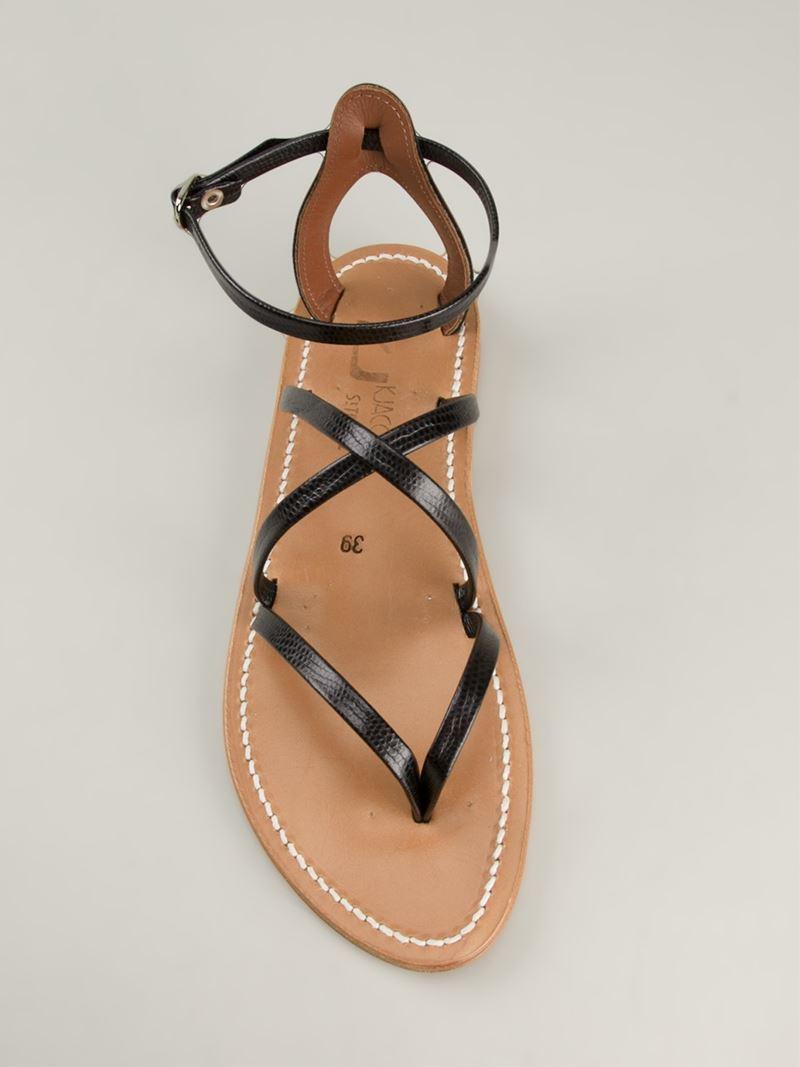 9e6daa6d750d Lyst - K. Jacques  Epicure  Sandals in Black