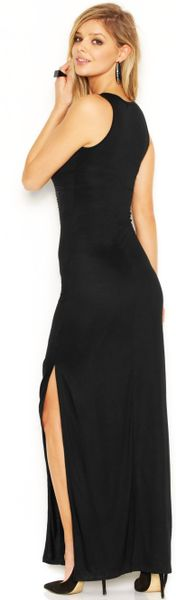 Maxi Dress in Black Jet