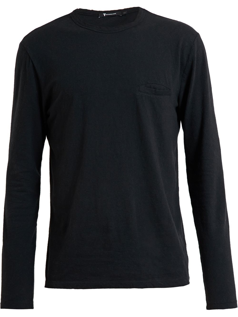 Black t shirt long sleeve - Gallery