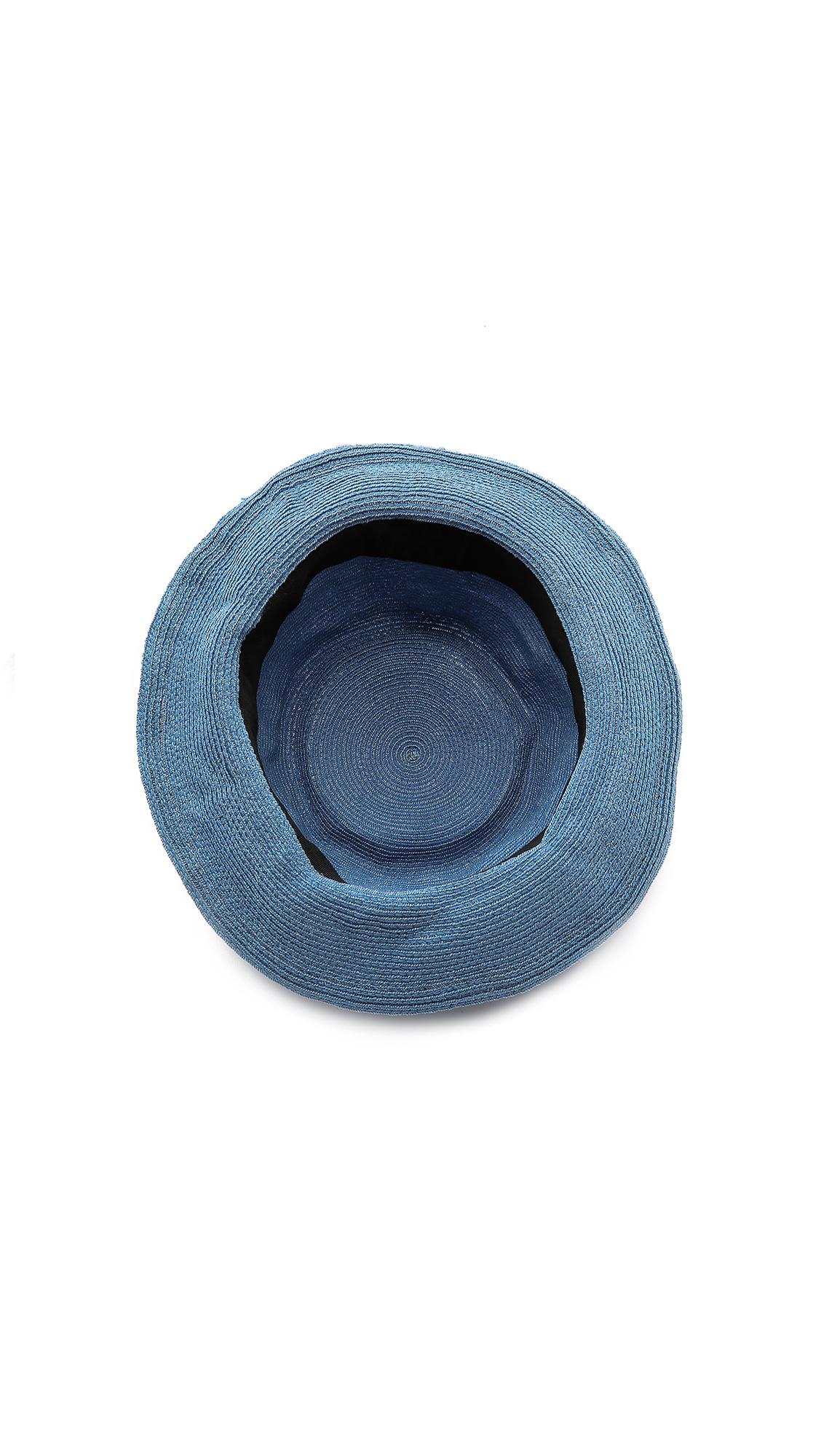Lyst - Mr. Kim By Eugenia Kim Steve Straw Hat in Blue for Men