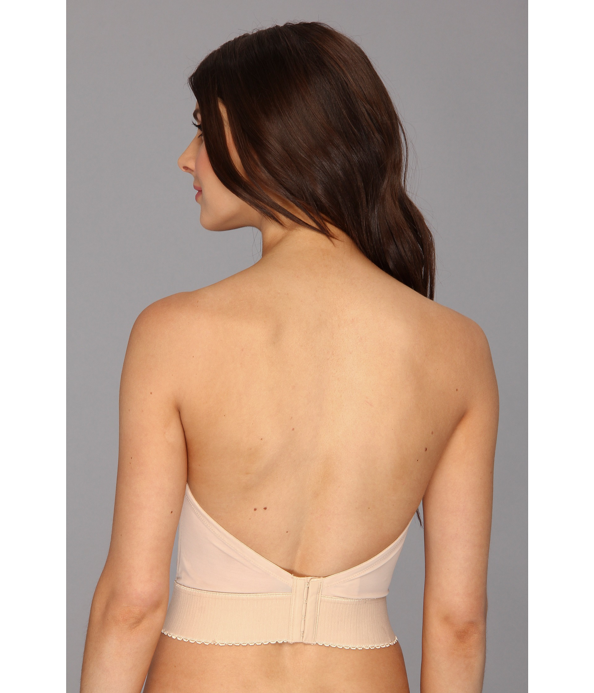 042a1abab1daf Lyst - Wacoal Red Carpet Long Line Bustier Bra 859119 in Natural