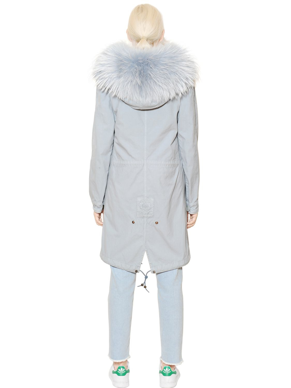 Lyst Mr Amp Mrs Italy Cotton Canvas Parka With Murmansky