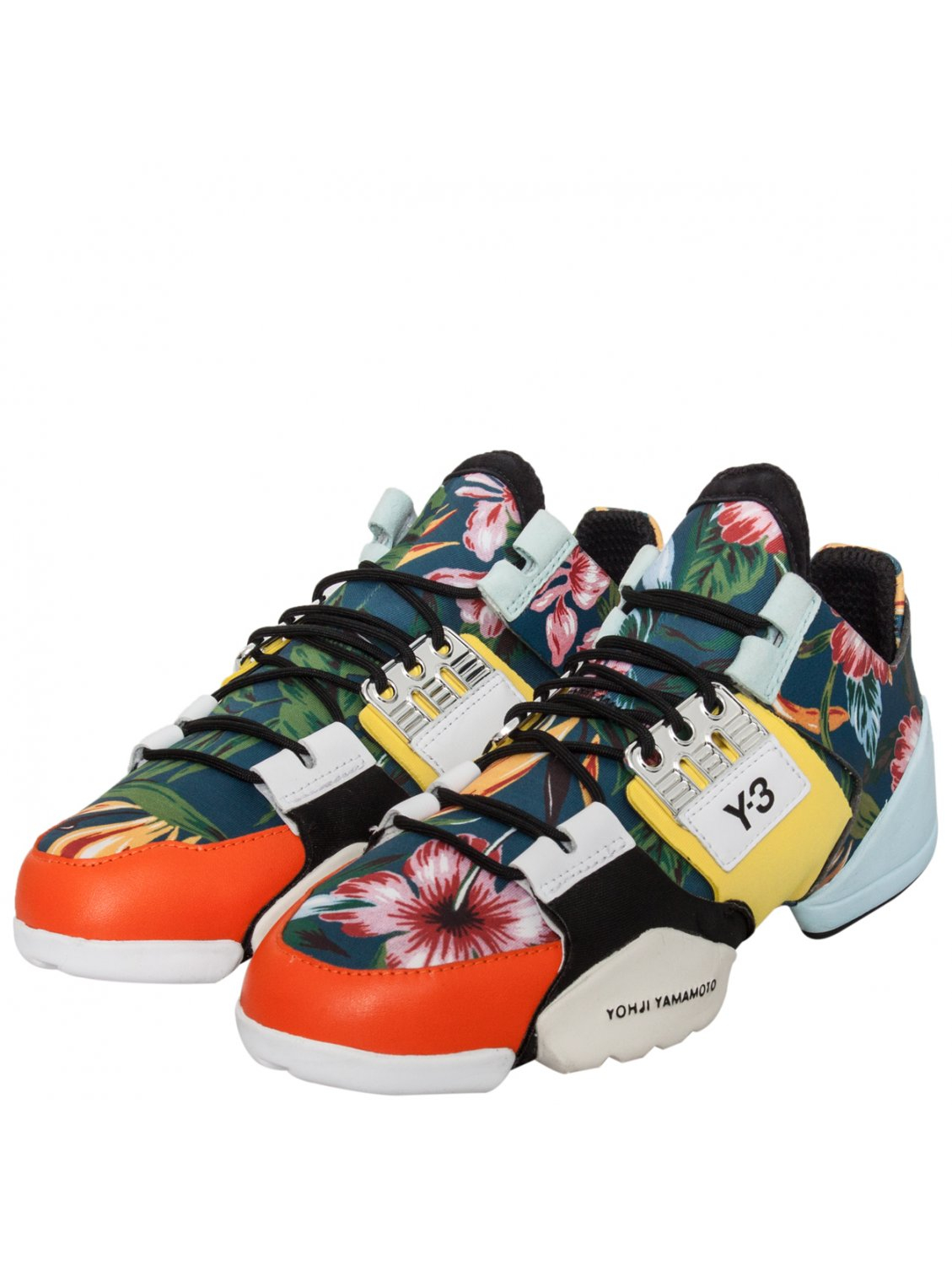 e6b63dbba4e4 Y-3 Kanja Low Flower Trainer Multi - Lyst