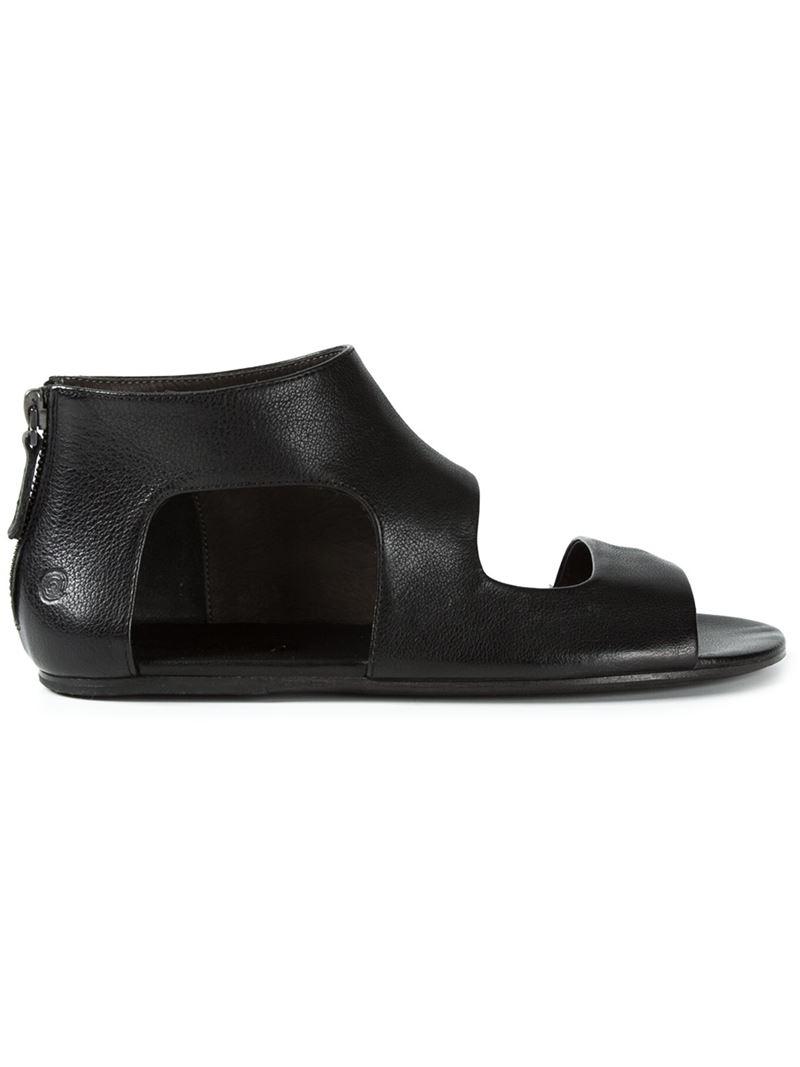 Black boot sandals - Gallery