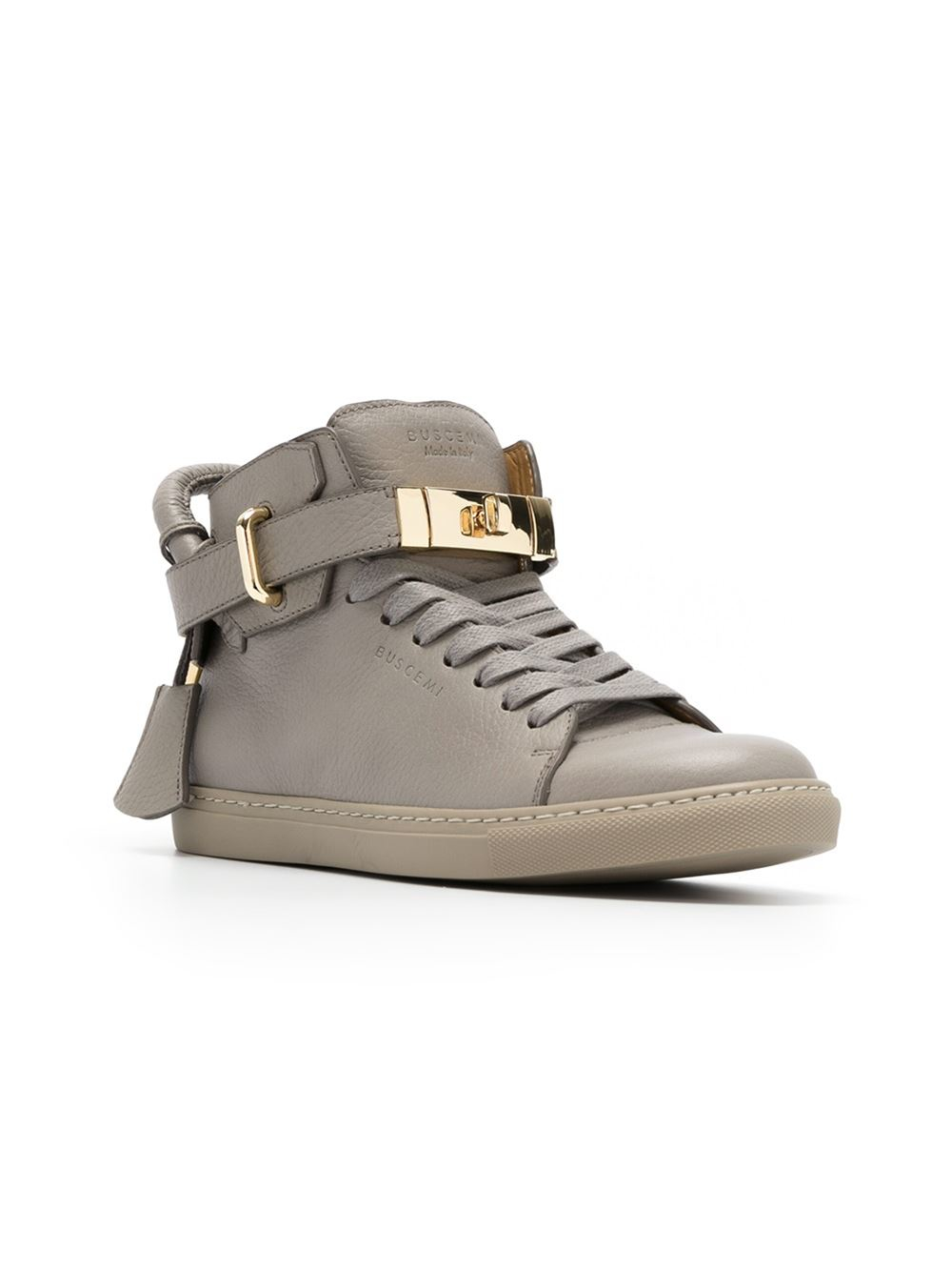 Discounts For Sale BUSCEMI Leather Trainers Cheap Sale Best Sale Free Shipping Browse riSr9eP