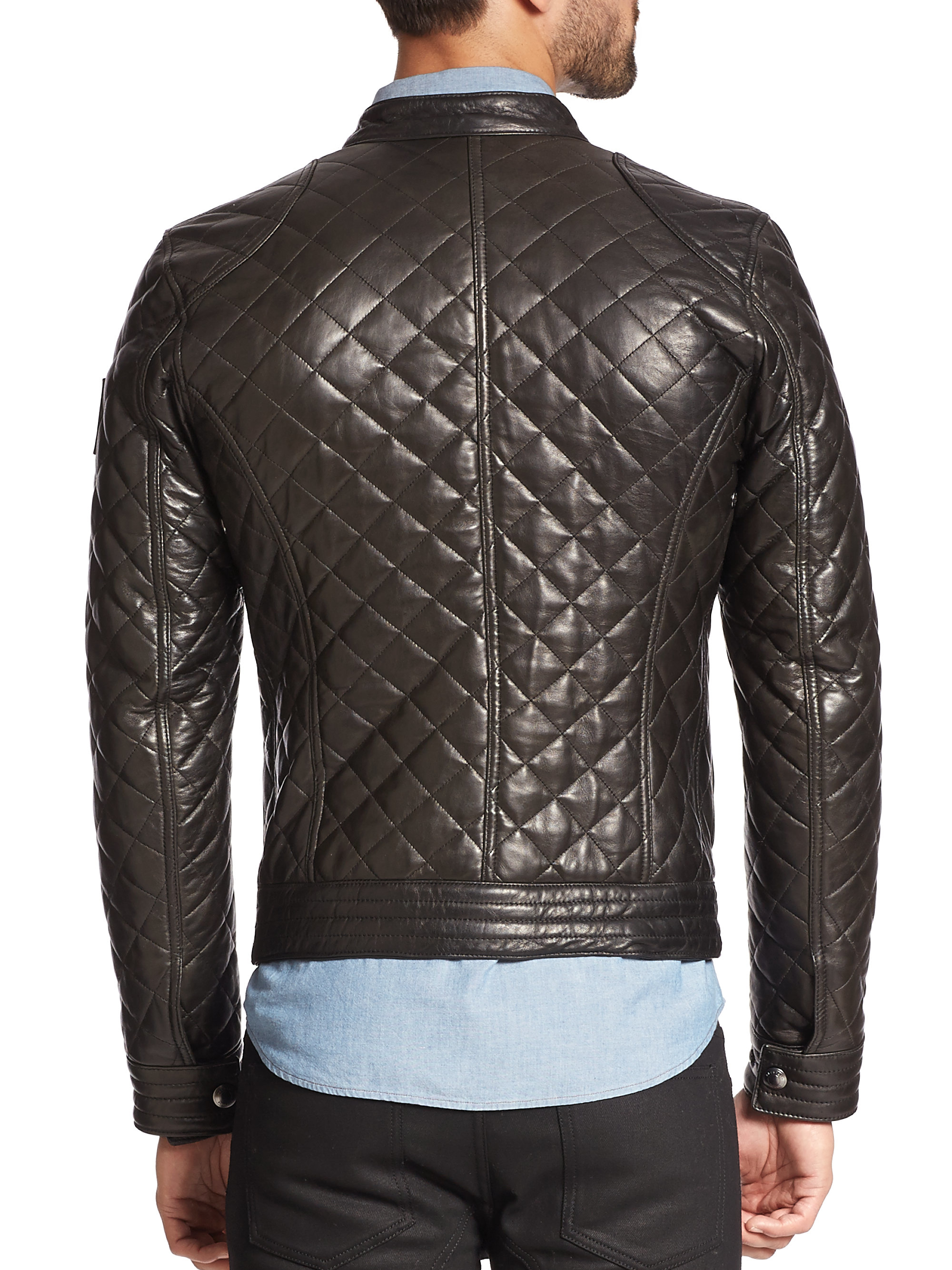Belstaff Quilted Leather