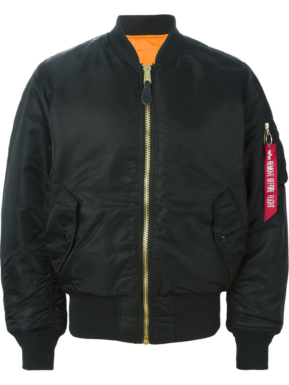 alpha industries classic bomber jacket in black for men lyst. Black Bedroom Furniture Sets. Home Design Ideas